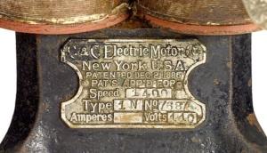 ilk elektrikli fan